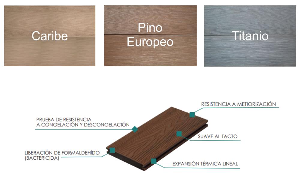 Es un sistema ideal para exteriores, gracias a su gran resistencia y capacidades térmicas.
